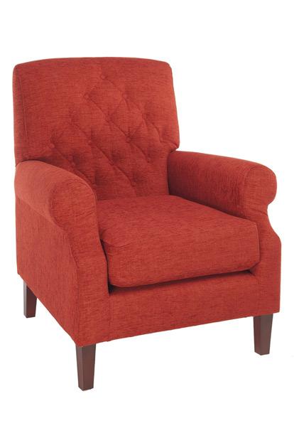 7575 zorg fauteuil vol gestoffeerd beuken frame knopen rug zitting koudschuim senioren hoogte