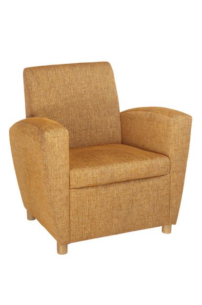 Sam fauteuil, gestoffeerd