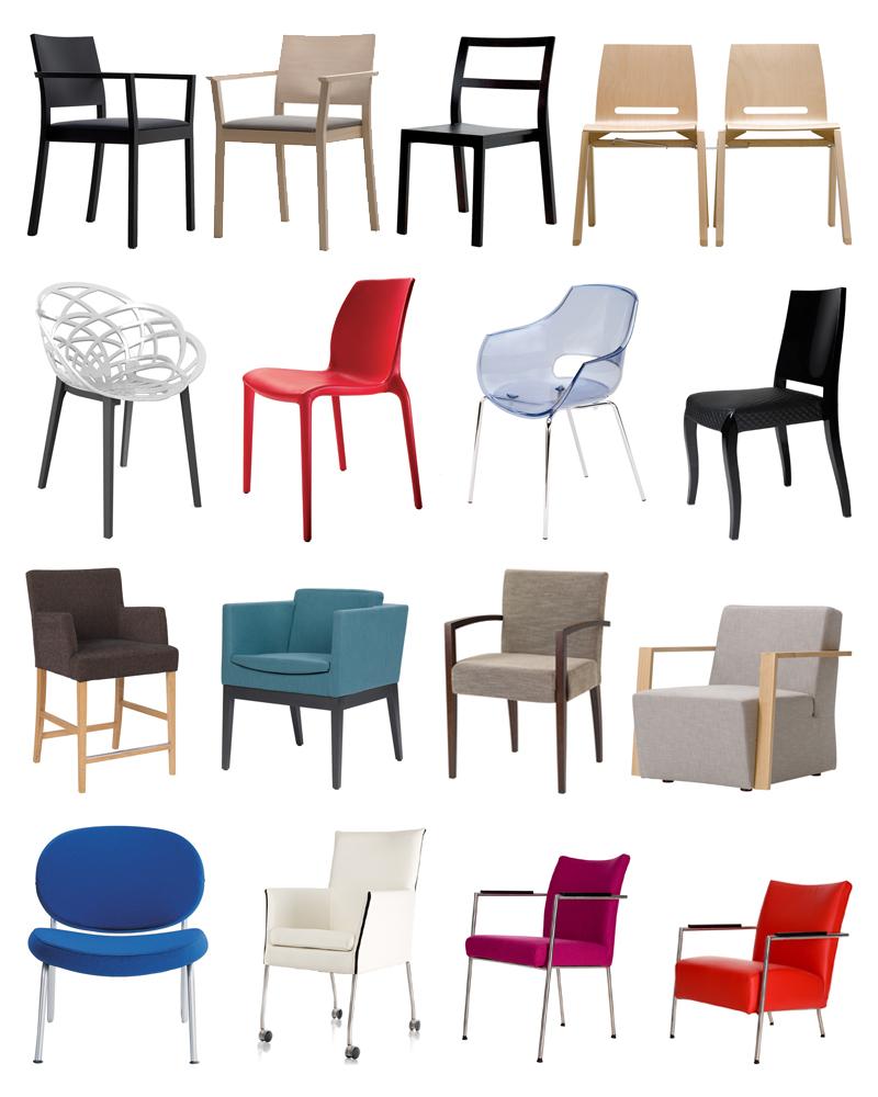 selectie contract stoelen